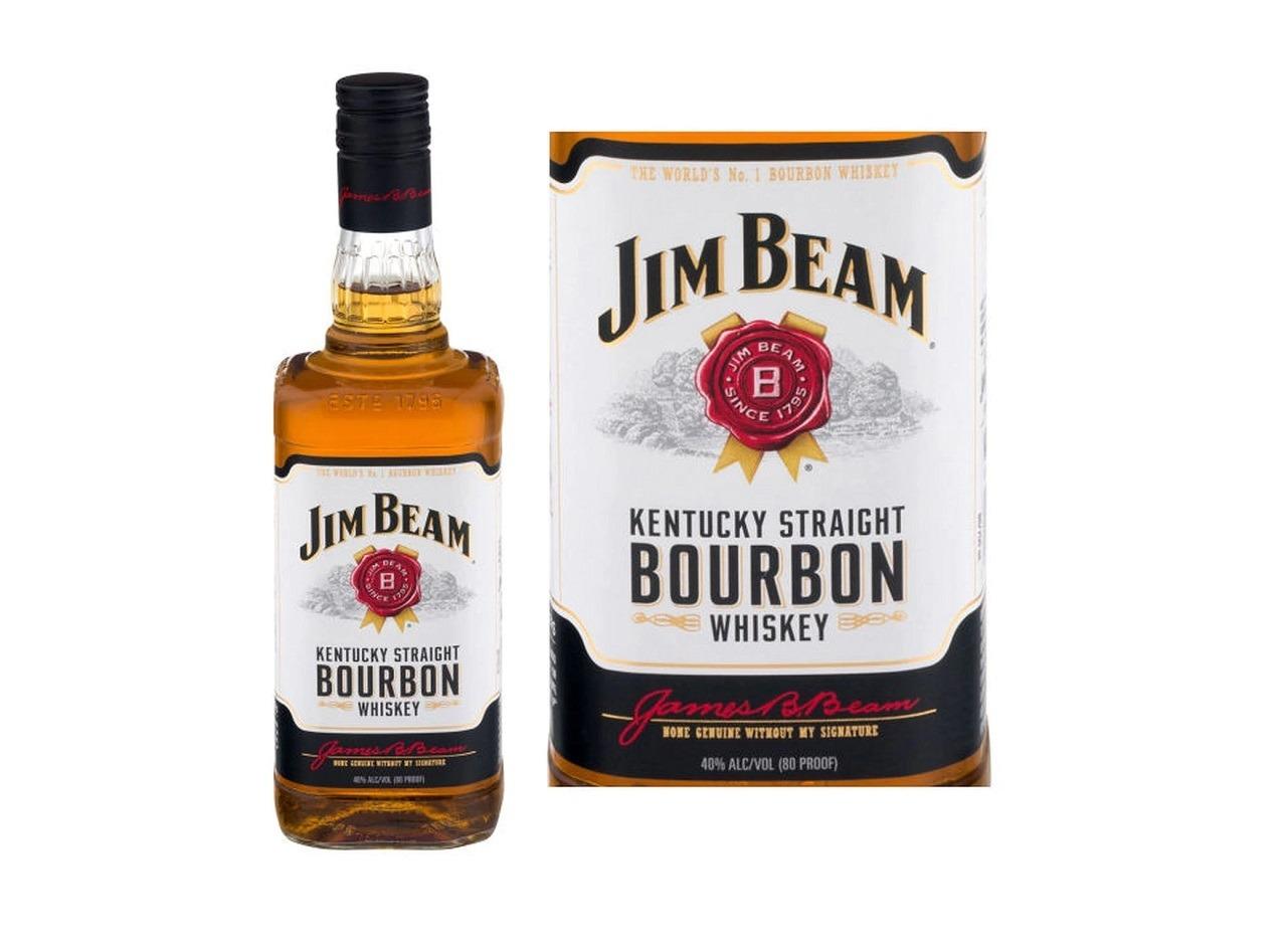 Jim Beam White Kentucky Straight Bourbon