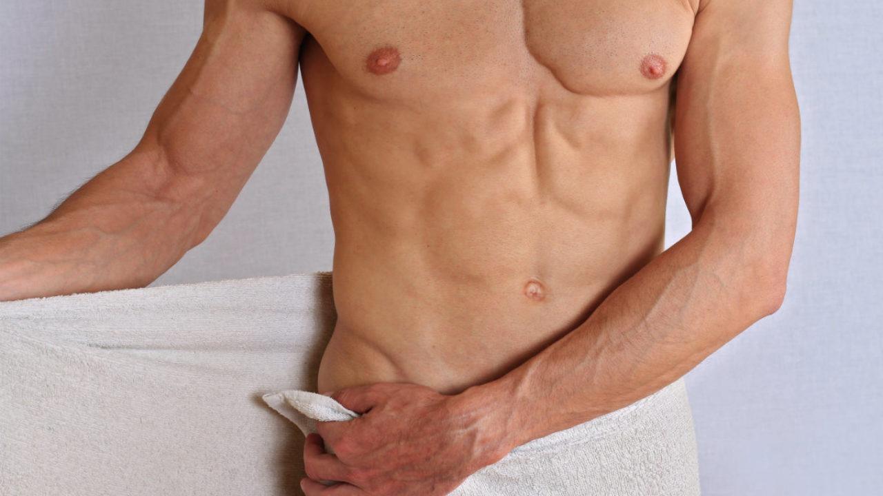 Crème dépilatoire pour les parties intimes des hommes