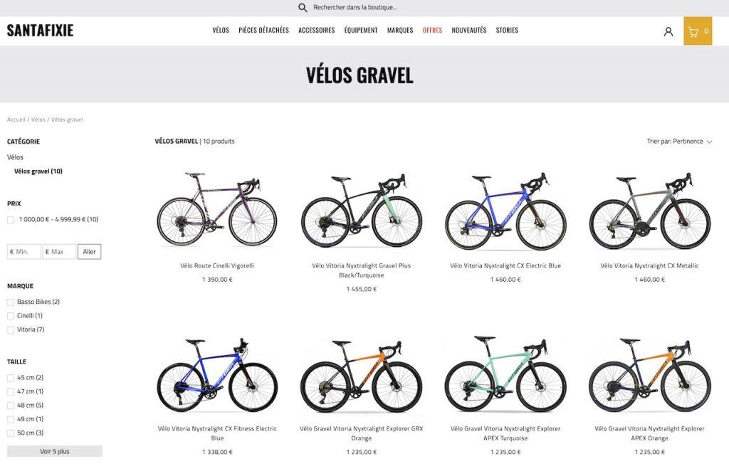 Vélos d'aventure