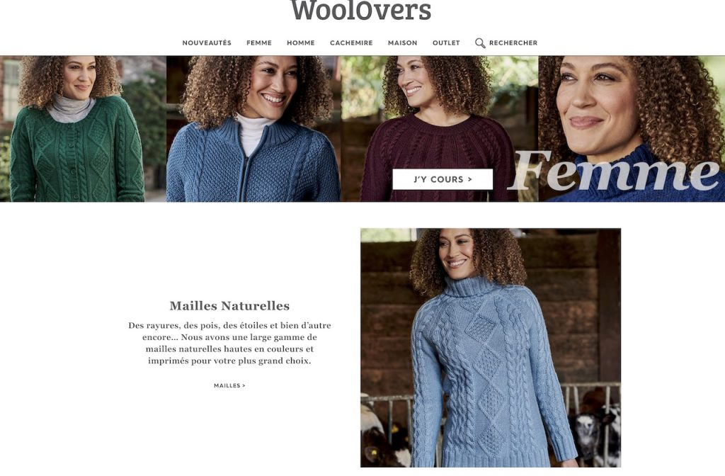 WoolOvers pour femme