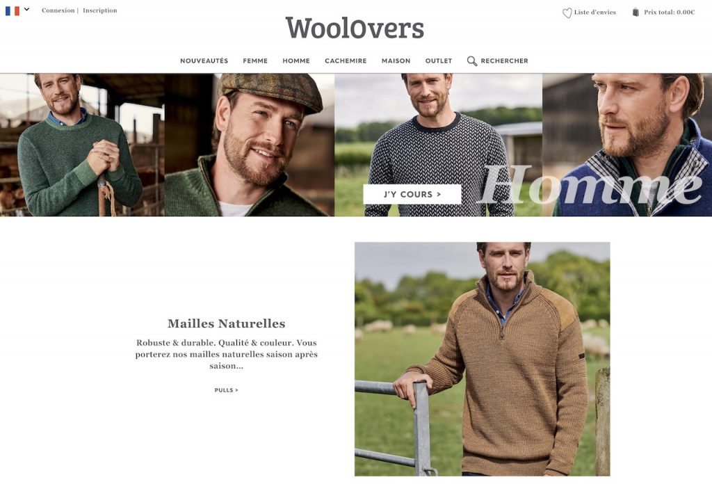 WoolOvers pour homme