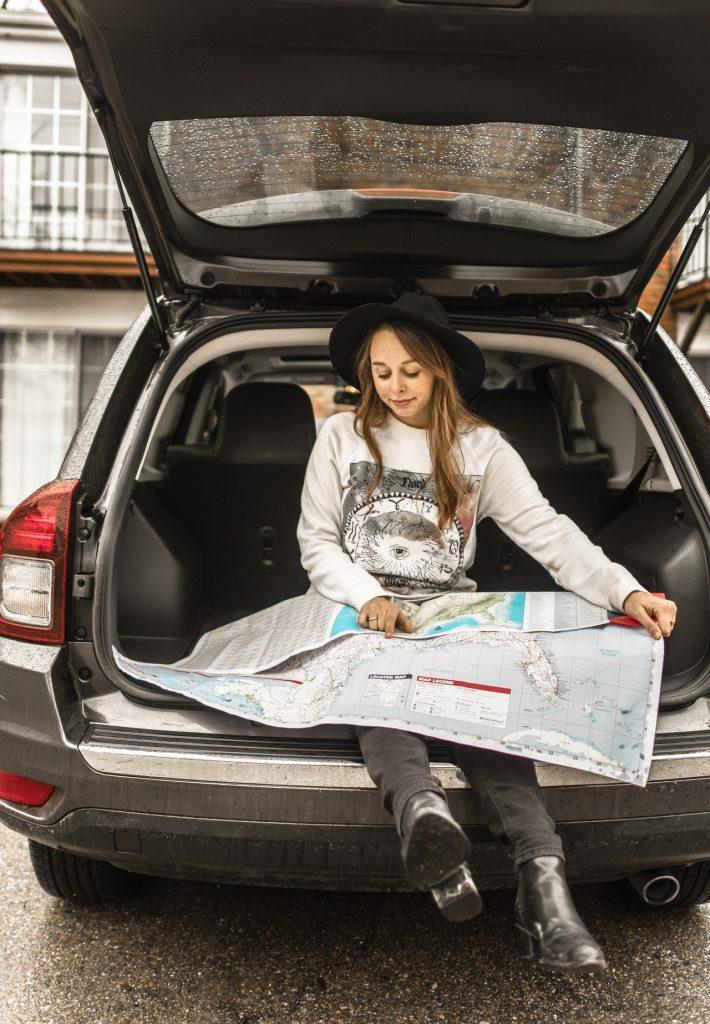Préparation de son voyage en voiture