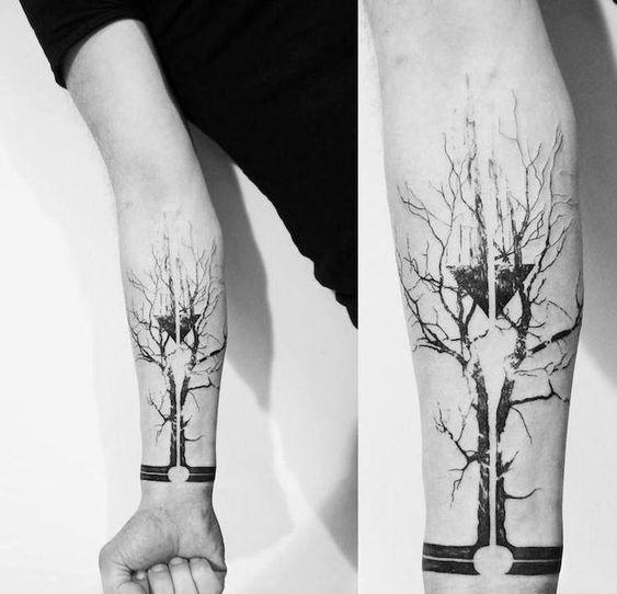 tatouage-arbre