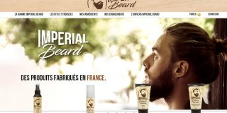 Imperial Beard, page d'accueil