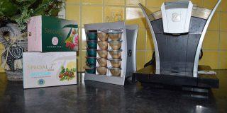Machine à thé et capsules